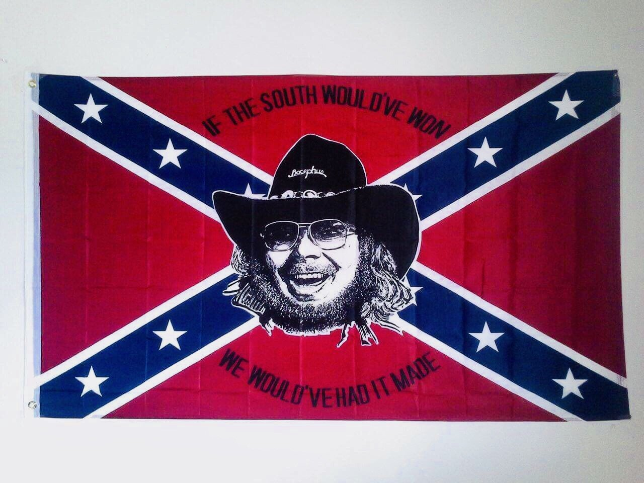 Hank Williams Jr. Rebel Flag
