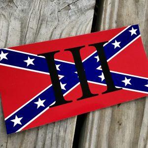 Rebel III% Sticker