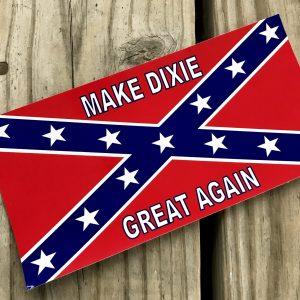 Rebel Make Dixie Great Again Sticker