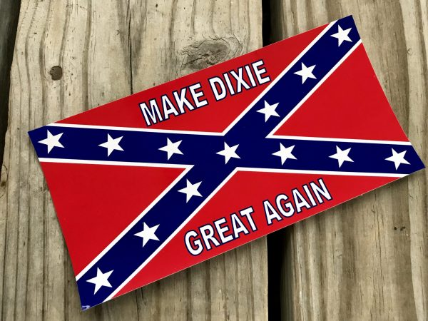 Rebel Make Dixie Great Again Sticker