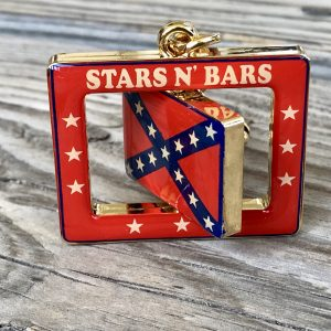 Confederate Spinner Keychain