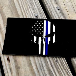 Police Punisher Skull Sticker