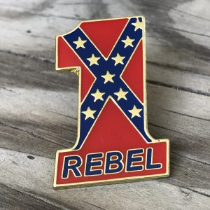 #1 Rebel Pin