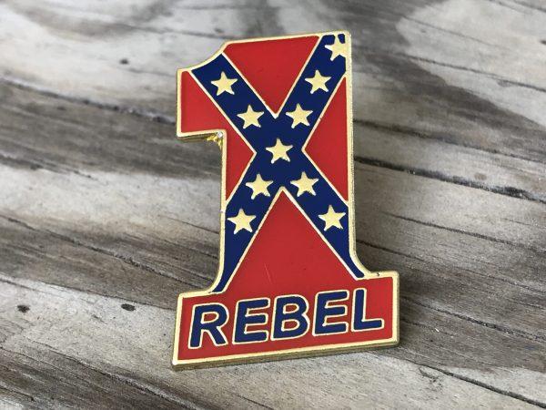 #1 Rebel Pin
