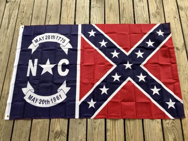 North Carolina Rebel Flag