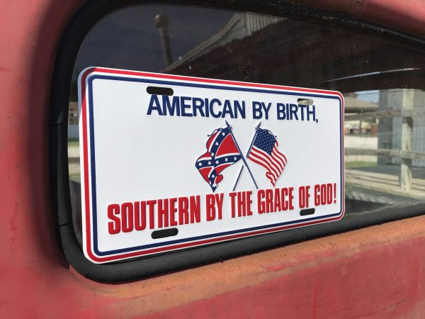 American by Birth Rebel Plate
