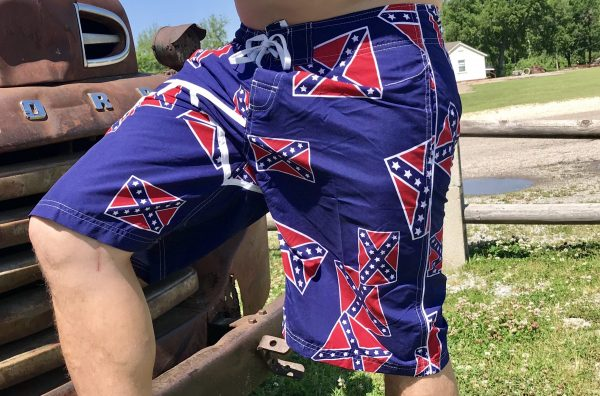 Confederate Flag Board Shorts