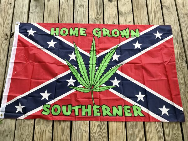 Home Grown Rebel Flag