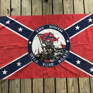 The South Will Rise Again Battle Flag