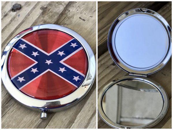 Confederate Compact Mirror