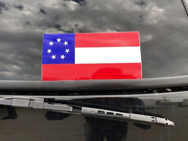 1st Confederate Flag Sticker