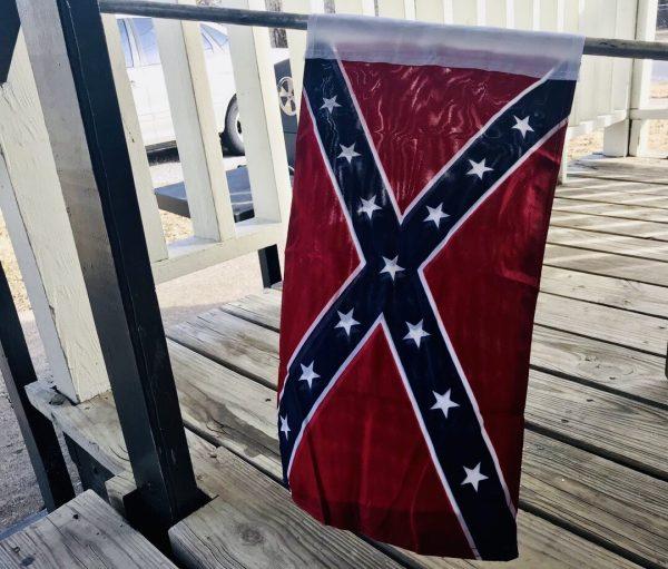 Rebel Knit Nylon Garden Flag