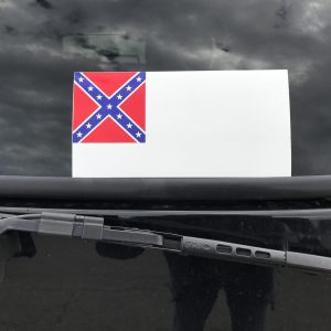 2nd Confederate Flag Sticker