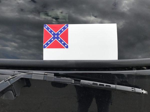 2nd Confederate Flag Sticker