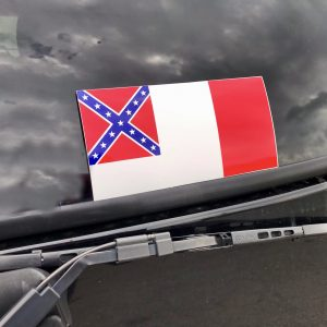 3rd Confederate Flag Sticker