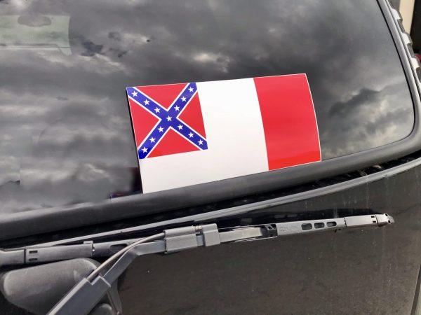 3rd Confederate Flag Sticker
