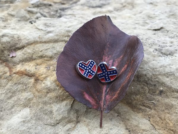 Rebel Heart Stud Earrings