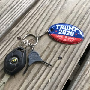 Trump 2020 Flashlight Light Keychain