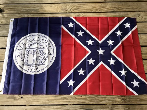 Georgia Rebel Flag