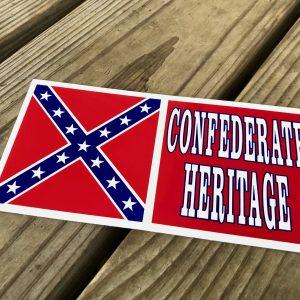 Confederate Heritage Sticker