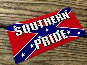 Southern Pride Rebel Sticker
