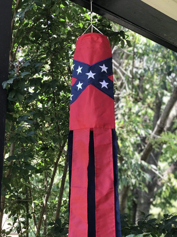 Rebel Flag Windsock