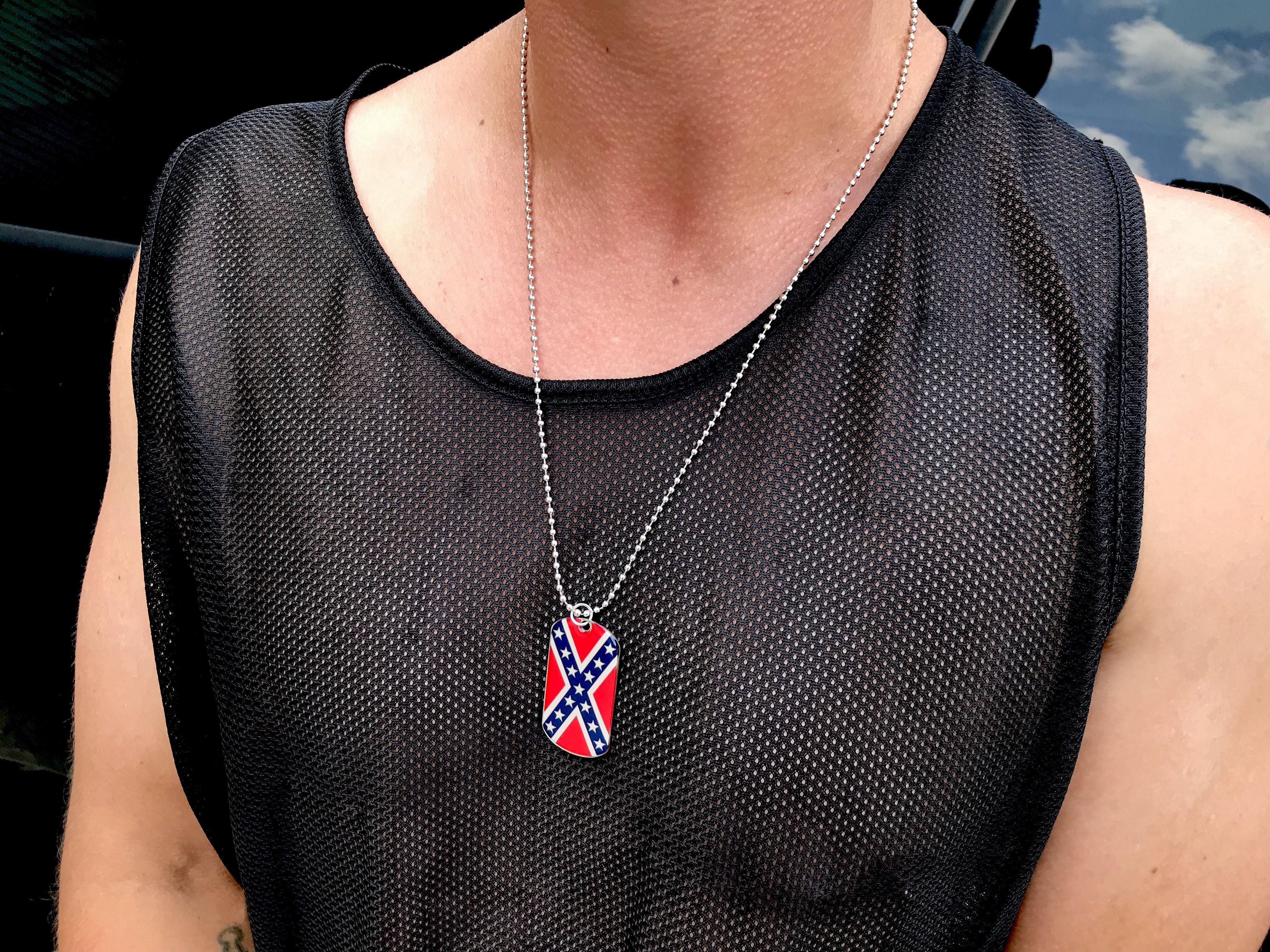 Rebel Dog Tag Necklace