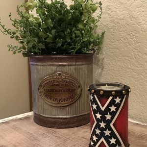 Confederate Votive Candle Holder