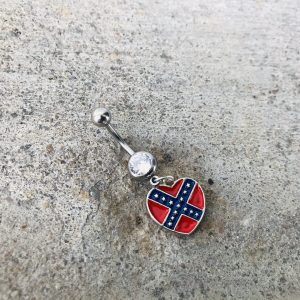 Rebel Heart Belly Button Ring