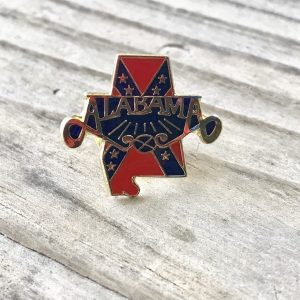 Alabama Confederate Lapel Pin
