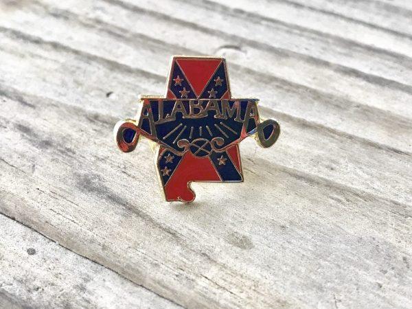 Alabama Confederate Lapel Pin