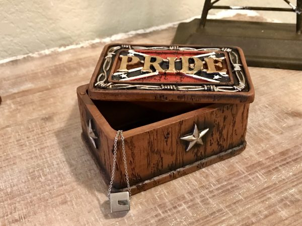Rebel Pride Trinket Box