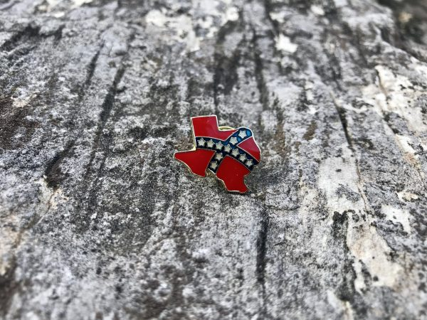 Texas Confederate Lapel Pin