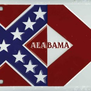 Alabama Confederate Plate