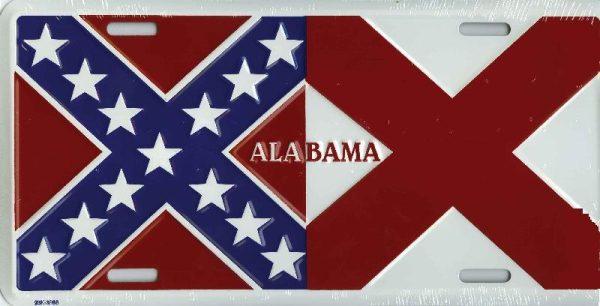 Alabama Confederate Plate