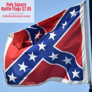Square Battle Flag 3 Sizes (Poly)