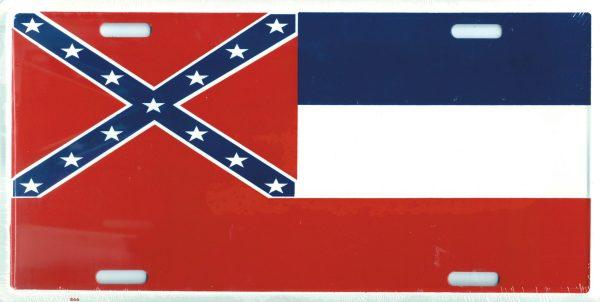 Mississippi Confederate Plate