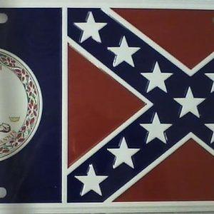 Virginia Confederate Plate