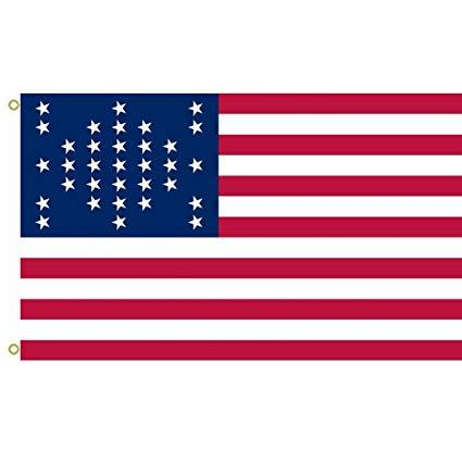 Ft. Sumter 33 Star American Flag