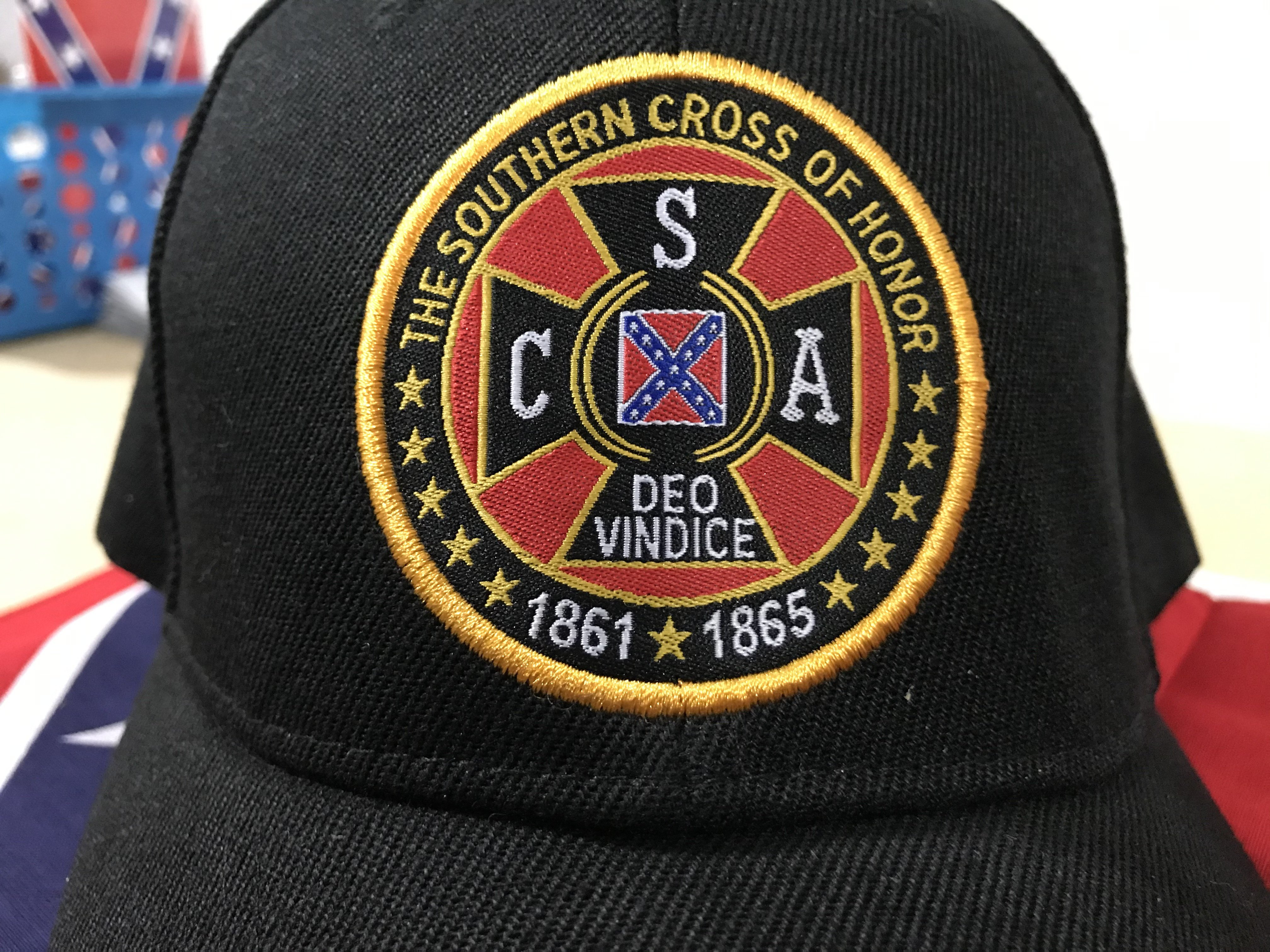 Southern Cross of Honor Rebel Cap