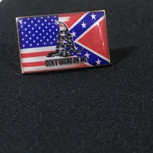 Triple Threat Flag Pin