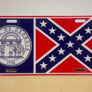 Georgia Confederate Plate