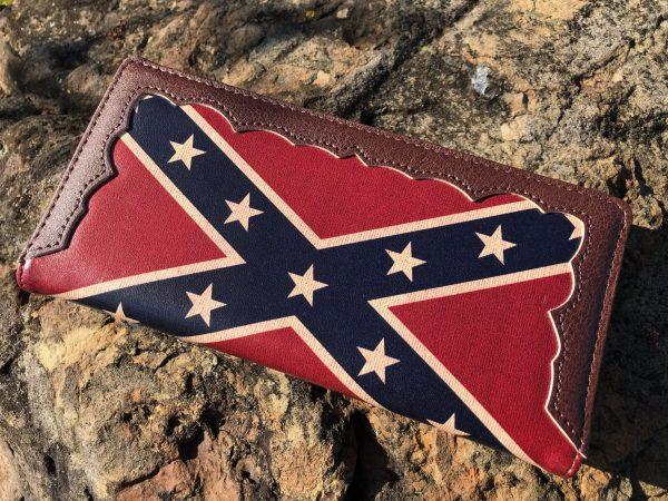 Rebel Flag Billfold Wallet