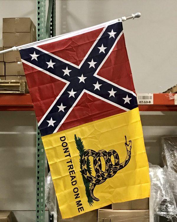 Confederate Gadsden Combo Flag
