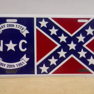 North Carolina Confederate Plate