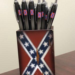 Rebel Flag Ink Pens 6 Pack