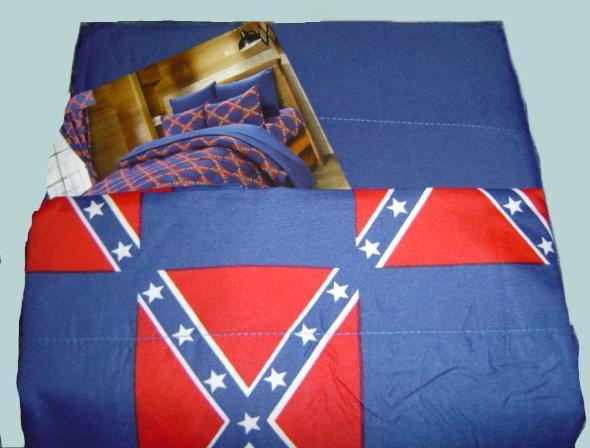 Confederate Rebel Flag Sheet Sets