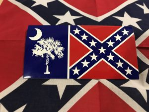 South Carolina Rebel Flag Sticker