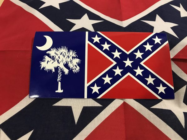 South Carolina Rebel Flag Sticker