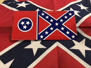 Tennessee Rebel Flag Sticker